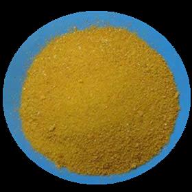 title='<span>聚氯化铝是一种新型、高效无机复合絮凝剂,固体产品为棕褐色、红综色粉状、片状晶体</span>'